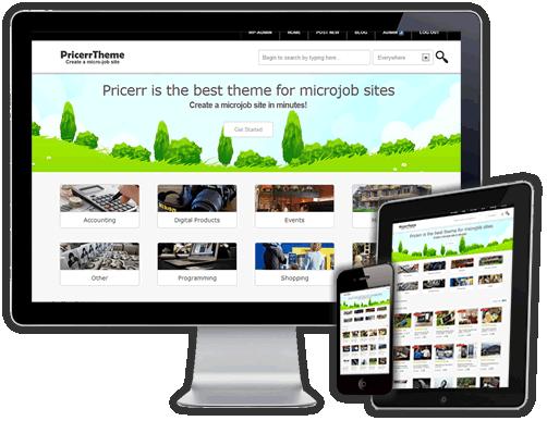 Best Fiverr clone Script theme WordPress